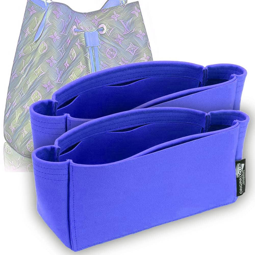 NeoNoe Suedette Leather Basic Style Set of 2 Handbag Organizers  (More Colors)