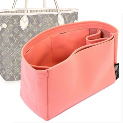 Neverfull PM / MM / GM  Suedette Regular Style Handbag Organizer (Rose Pink) (More Colors)