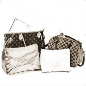 Leather Bag Shaper Pillows