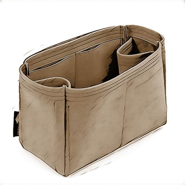 Nubuck Leather Bag Organizers