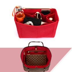 Bag and Purse Organizer with Regular Style for Louis Vuitton Neverfull