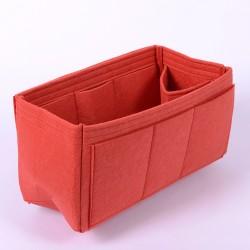 Felt Handbag Organizer with One Round Holder - Size: 37 / 20 / 17  cm
