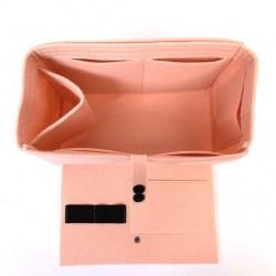 Felt Handbag Organizer with Flapper Style - Size: 28 / 18 / 14 cm