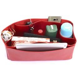 Vegan Leather Handbag Organizer - Size: 37 / 16 / 14 cm