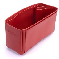 Vegan Leather Handbag Organizer - Size: 28 / 15 / 13 cm