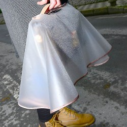 Rain Slicker For Designer Handbags, Tote Bags And Purses in Clear Color (Small Size)