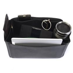Vegan Leather Handbag Organizer - Size: 32 / 16 / 16 cm