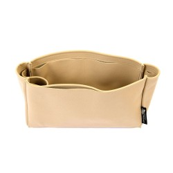 Saint Laurent Shopping Tote Bag Suedette Singular Style Leather Handbag Organizer (Beige) (More Colors Available)