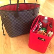 Regular felt bag organizer for neverfull mm