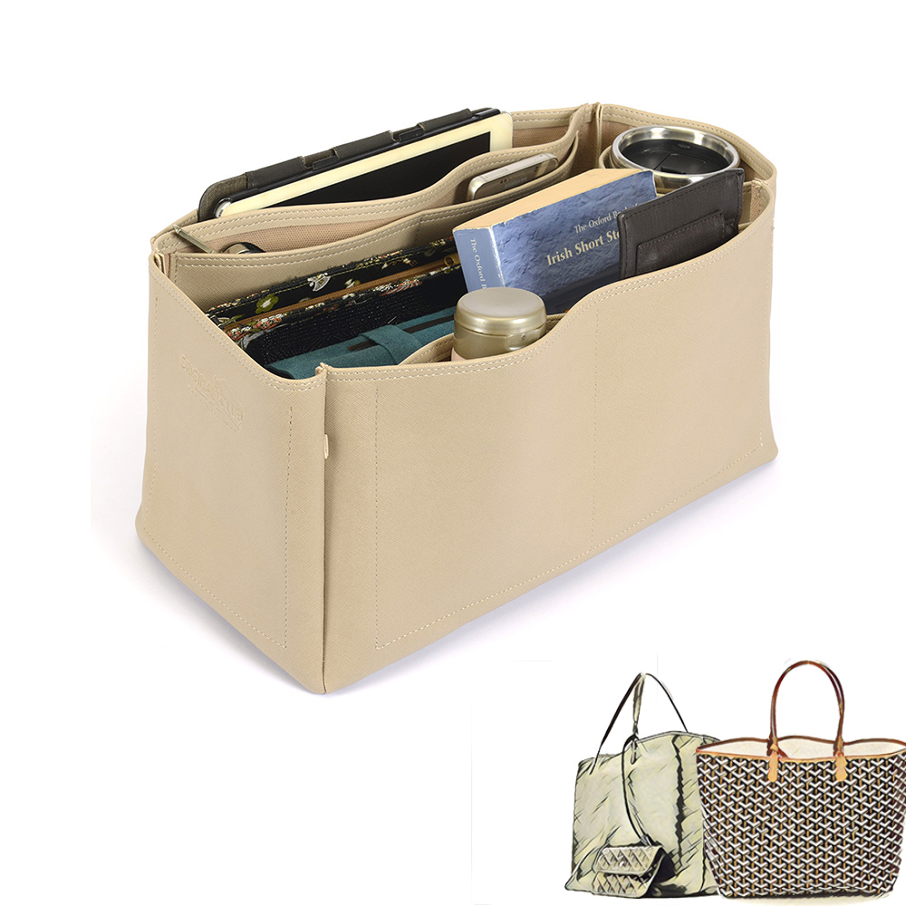 Saint Louis Gm and Anjou Gm Deluxe Leather Handbag Organizer