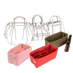 Bag and Purse Organizer with Chamber Style with Custom Size
