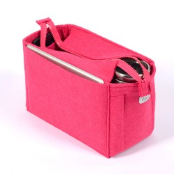 Bag and Purse Organizer with Zipper Top Style for Louis Vuitton Bags